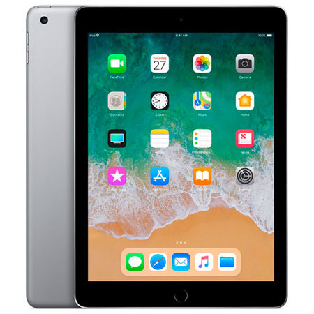 Планшет Apple iPad (2018) 32GB Wi-Fi Space Grey (MR7F2RU/A) в Mediamarkt